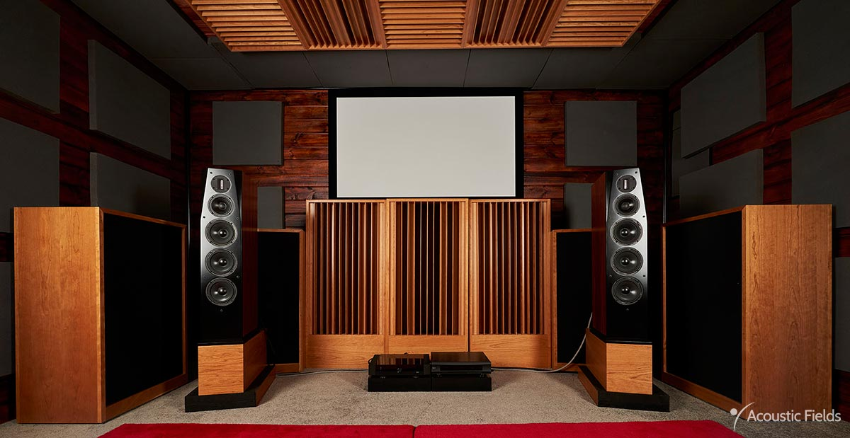 Front wall of home theater in melbourne