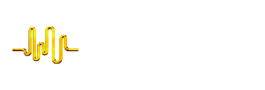 logo for room acoustics forum showing a waveform within a circle and the title of the forum