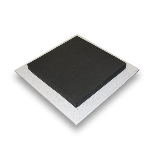 image of an acoustic foam ceiling tile from acoustic fields
