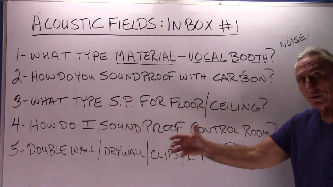 Acoustic Fields: Inbox #1
