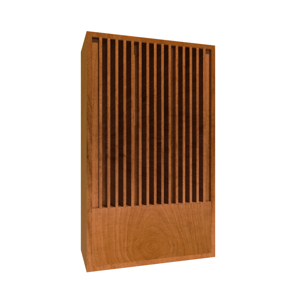 image of a qda sound diffuser absorber