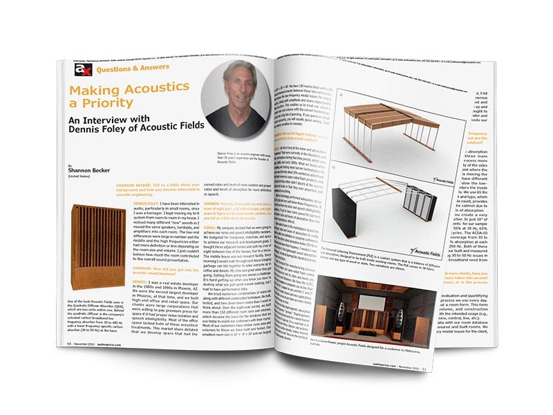 Making Acoustics a Priority – audioxpress.com Interview