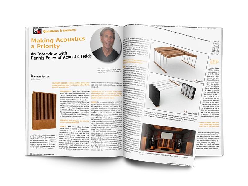 audioxpress magazine mockup