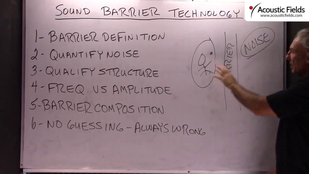 Sound Barrier Technology