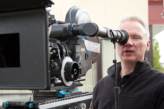 Image of Stephen Bowlby behind the camera