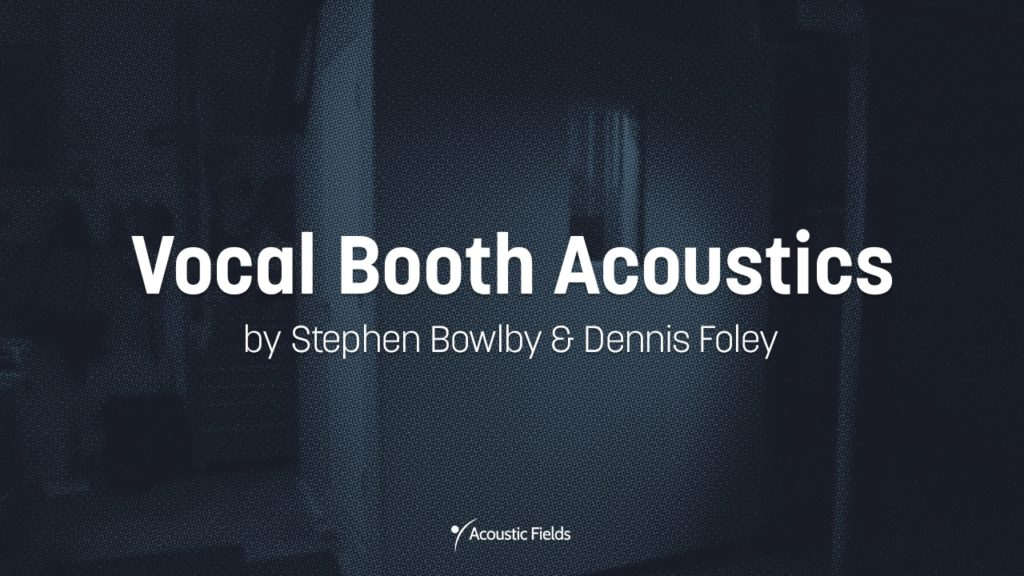 project image for the vocal booth acoustics diy project