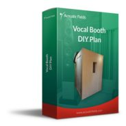 vocal booth diy plan box mockup
