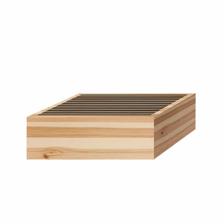 Mockup of Acoustic Fields Wooden Sound Diffuser P11