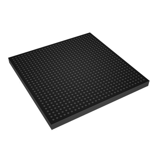 mockup of perforated absorber by Acoustic Fields