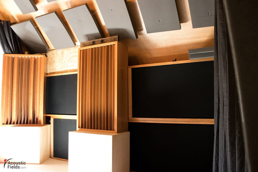 Acoustic Treatment In A Home Studio