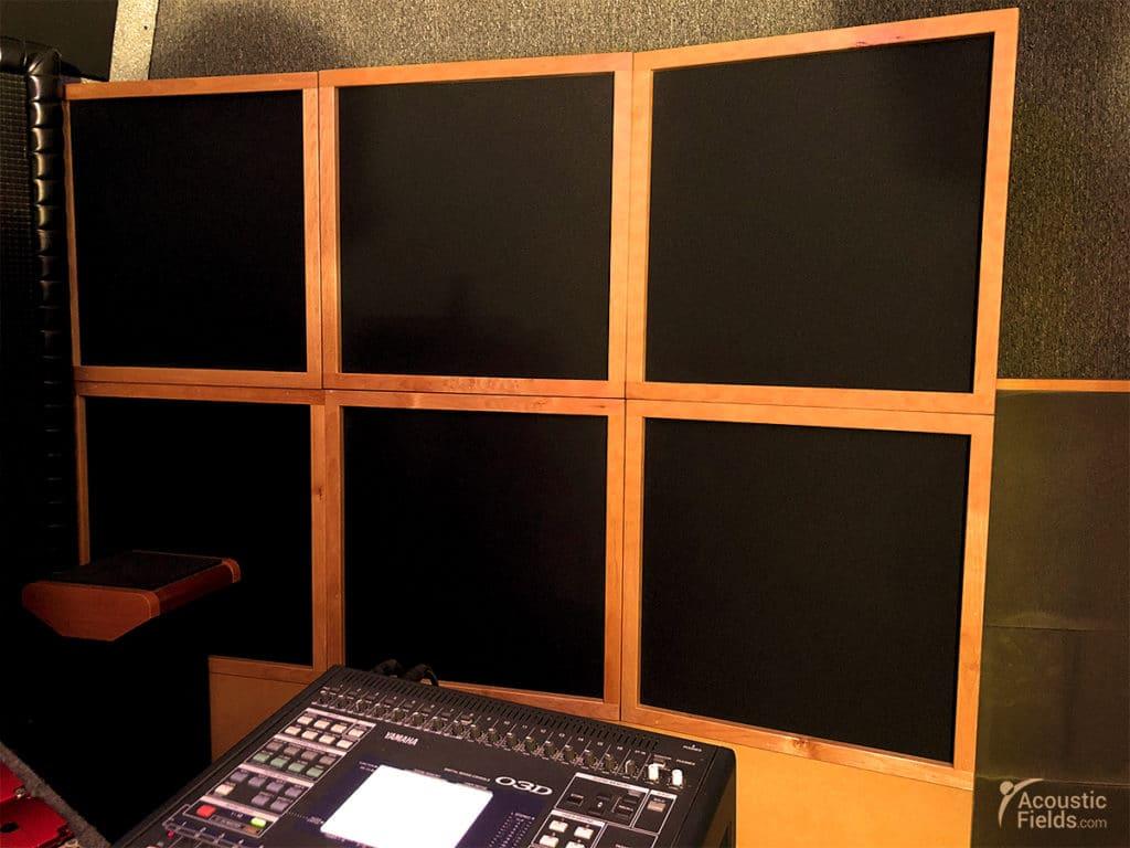... Design For The Home Studio. RTA Analyzer Test Results Donovan Stark  Acoustic Fields.