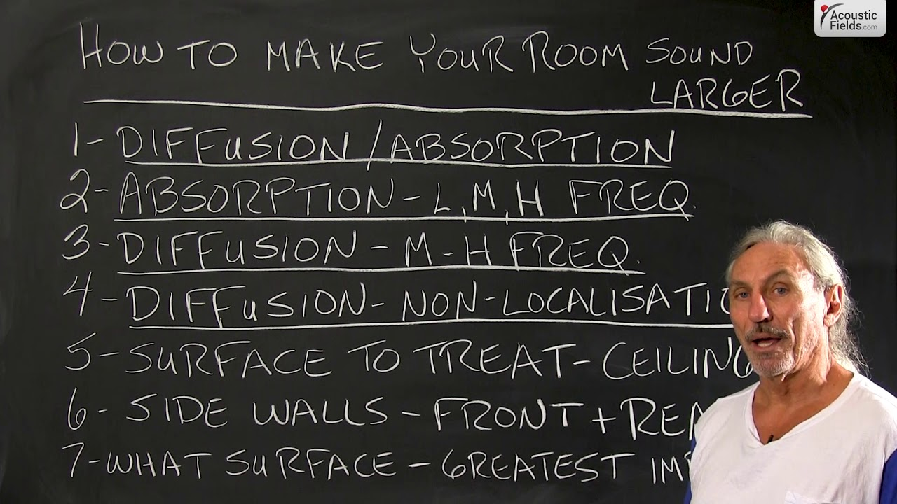 How To Make Your Room Sound Larger