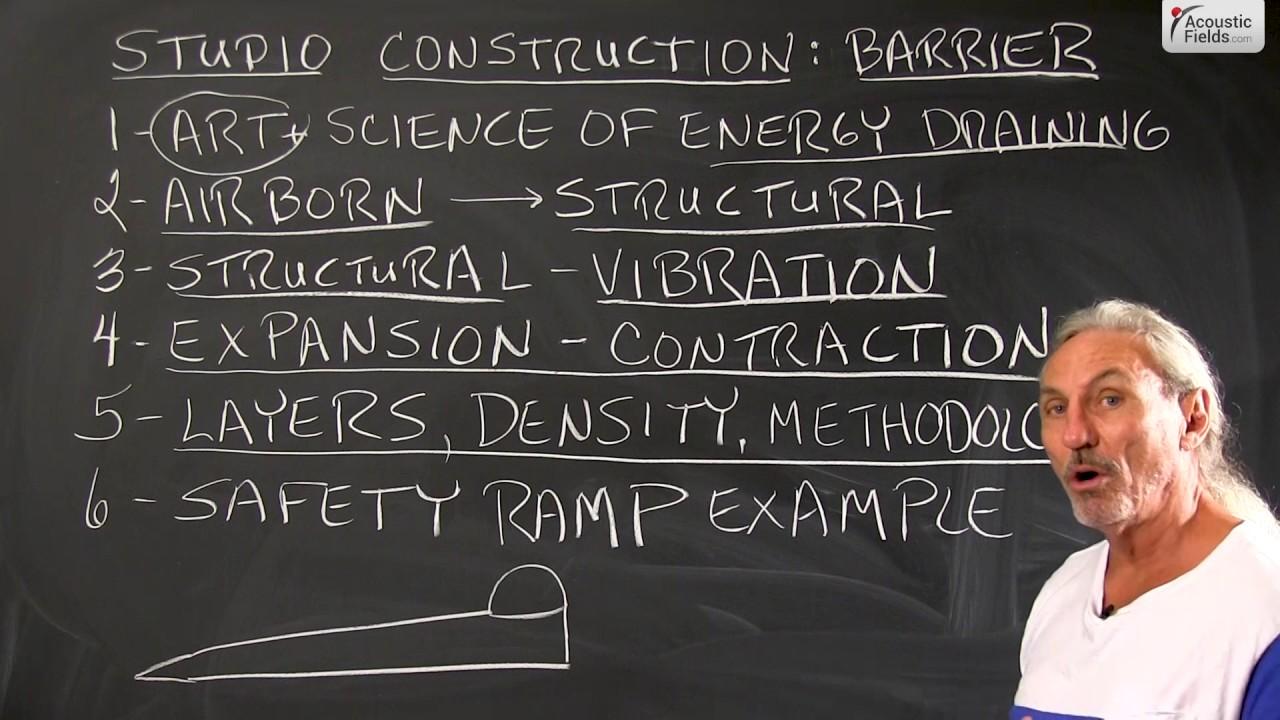 Studio Construction: Barrier