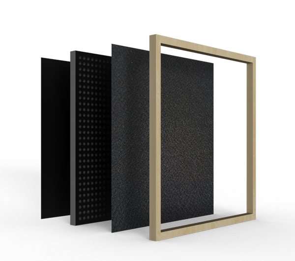 Product image of a Low Frequency Carbon Panel