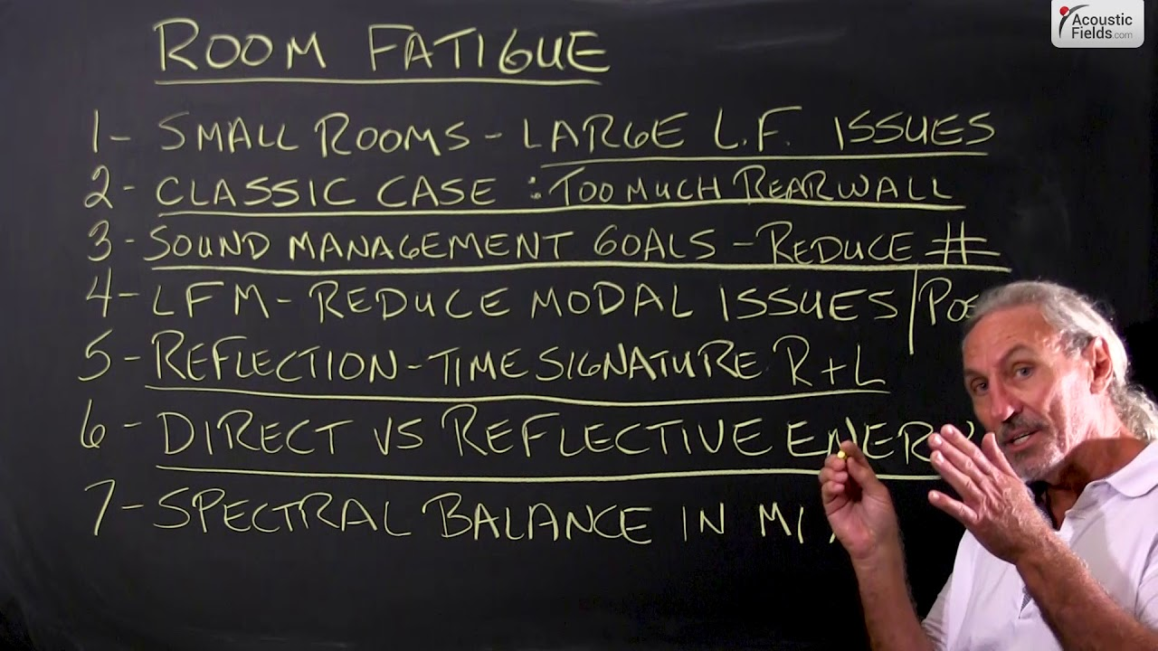 How Low Frequency Issues Cause Room Fatigue