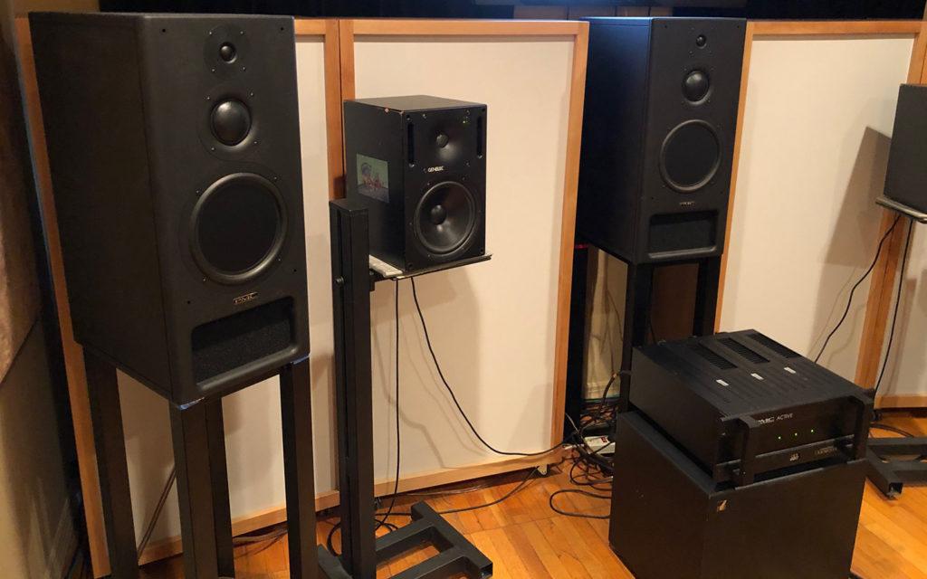 Front Wall Speakers Noise Alchemy Studio Brad Haehnel.
