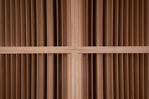 close up shot of sound diffusers