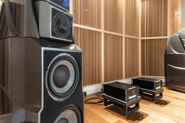 close up shot of wilson audio speakers alexandria