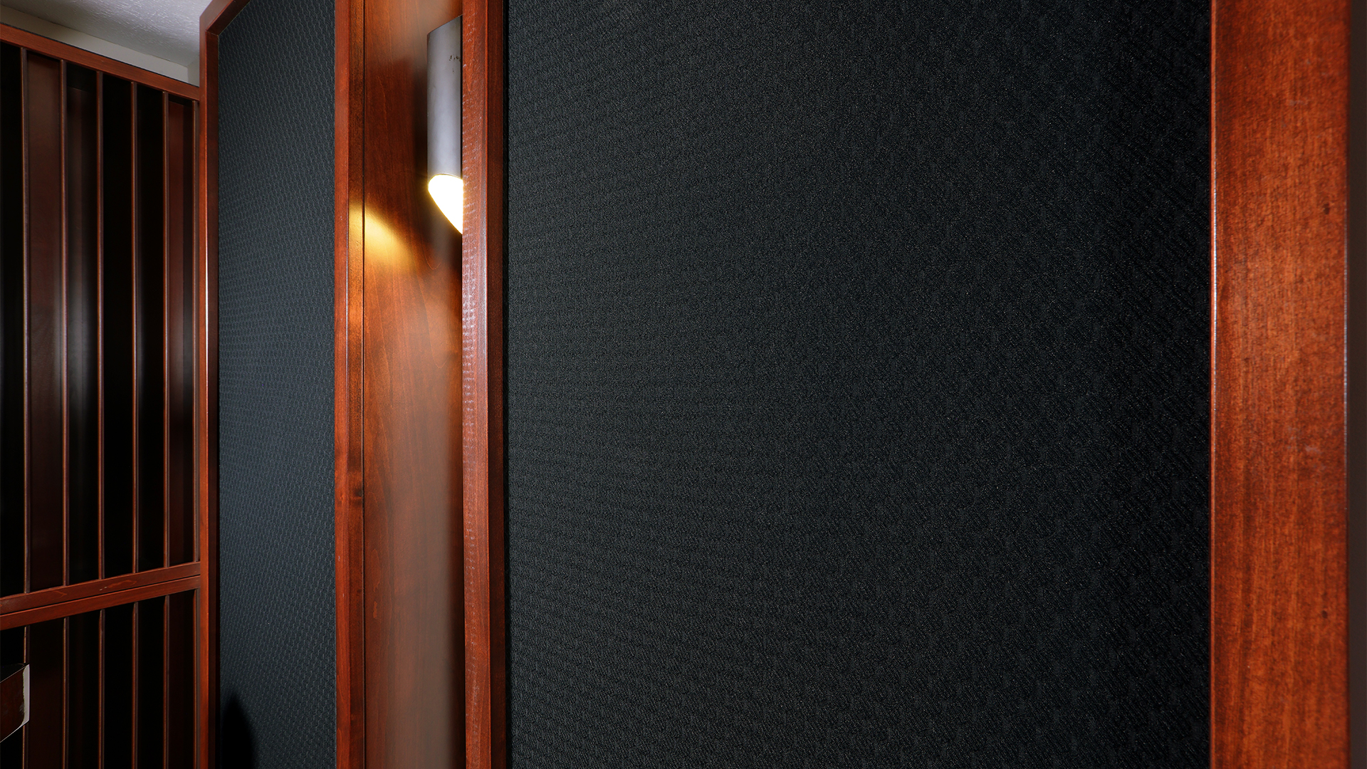 acoustic panel close up