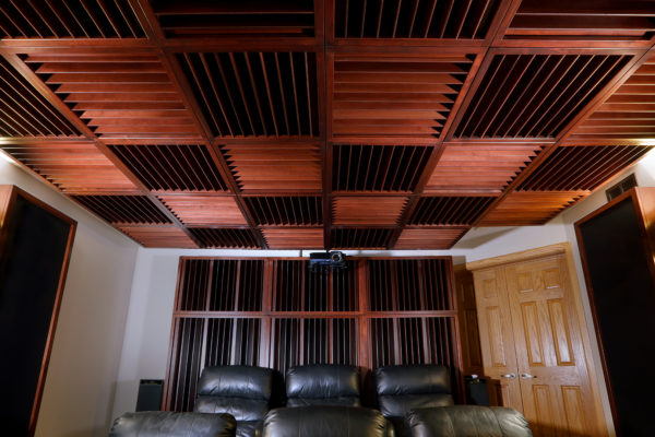 Music Environment: Private High-End Home Theater – Acoustic Fields