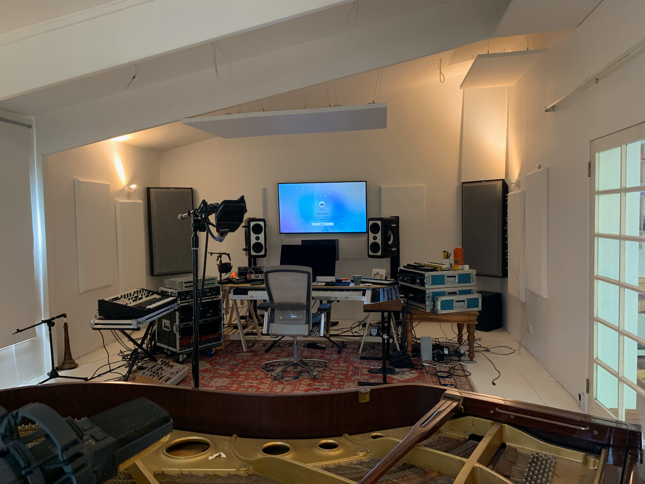 Building a recording studio from scratch