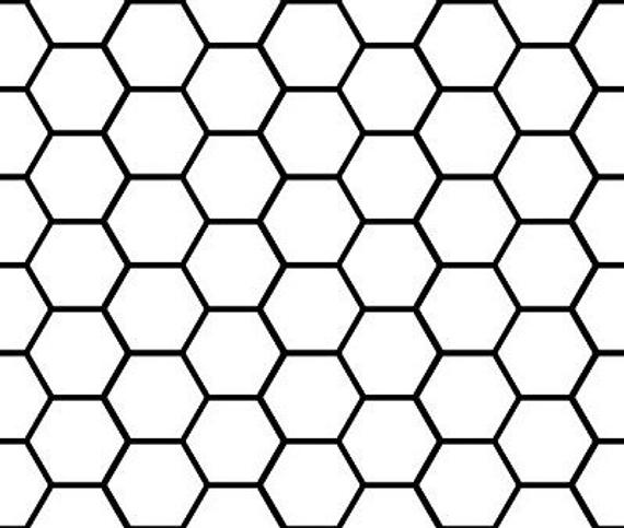 honeycomb pattern graphic