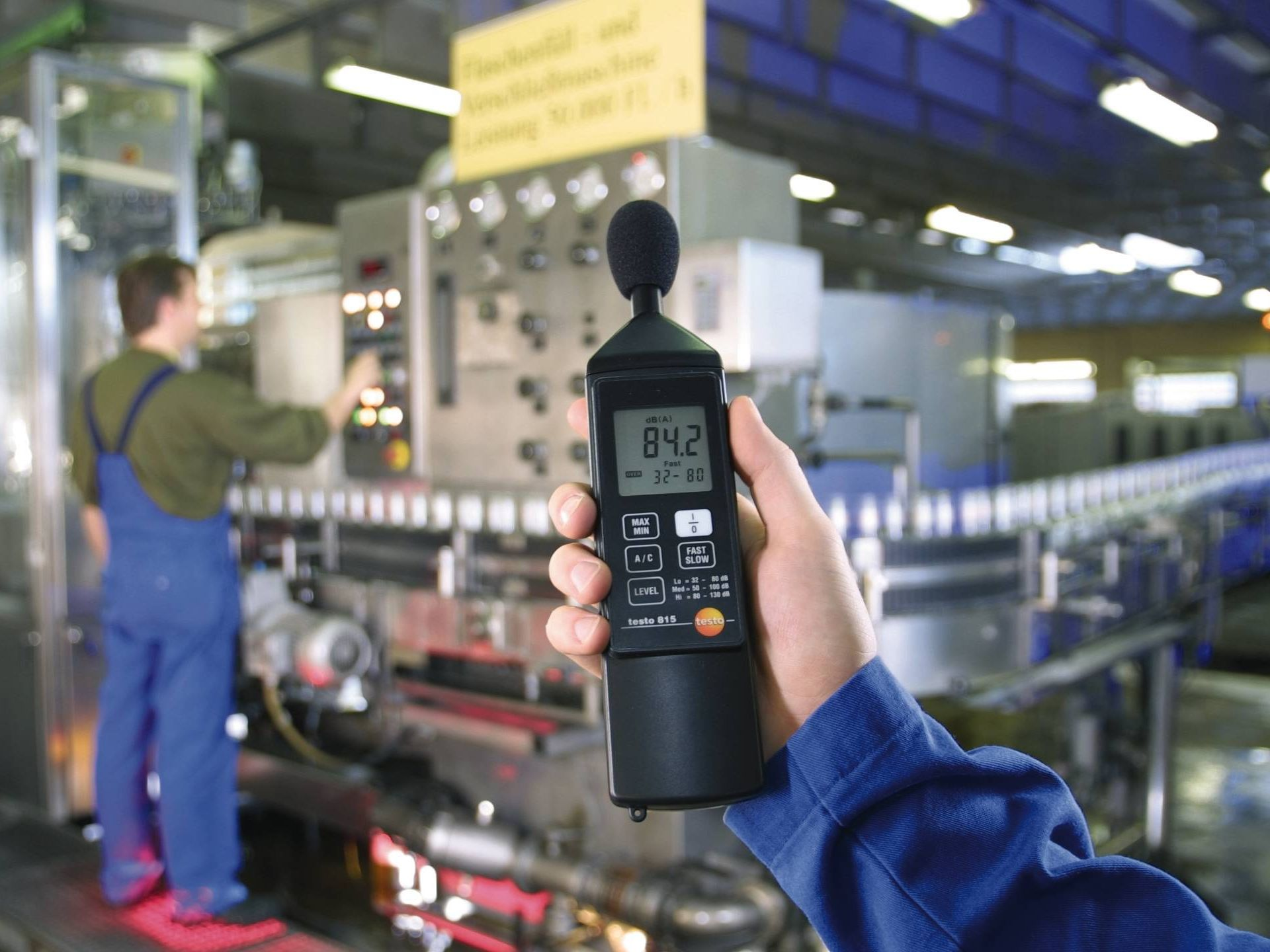 industrial noise control with db meter