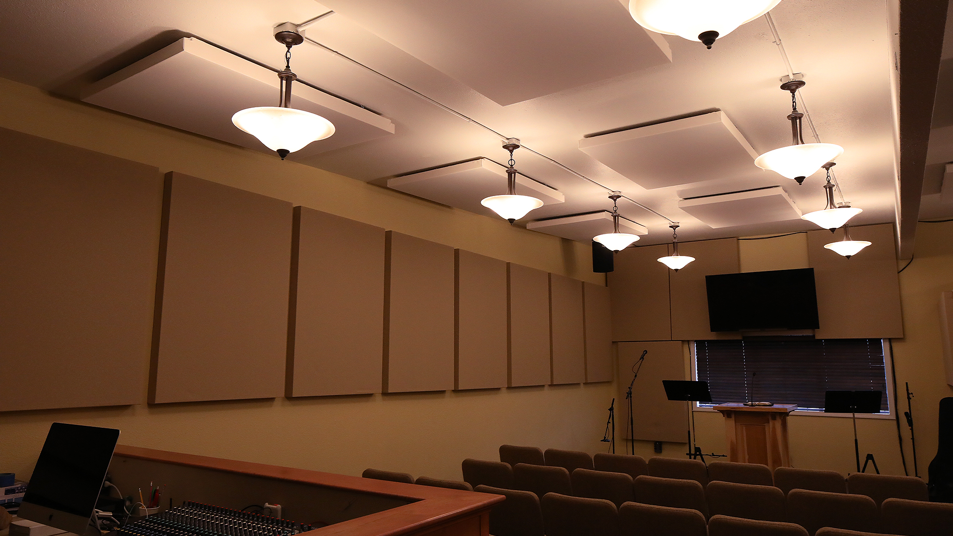 church acoustical design