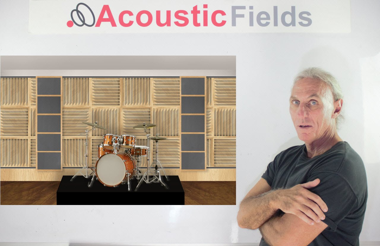 Acoustic Treatment For Recording Drums & Drum Rooms