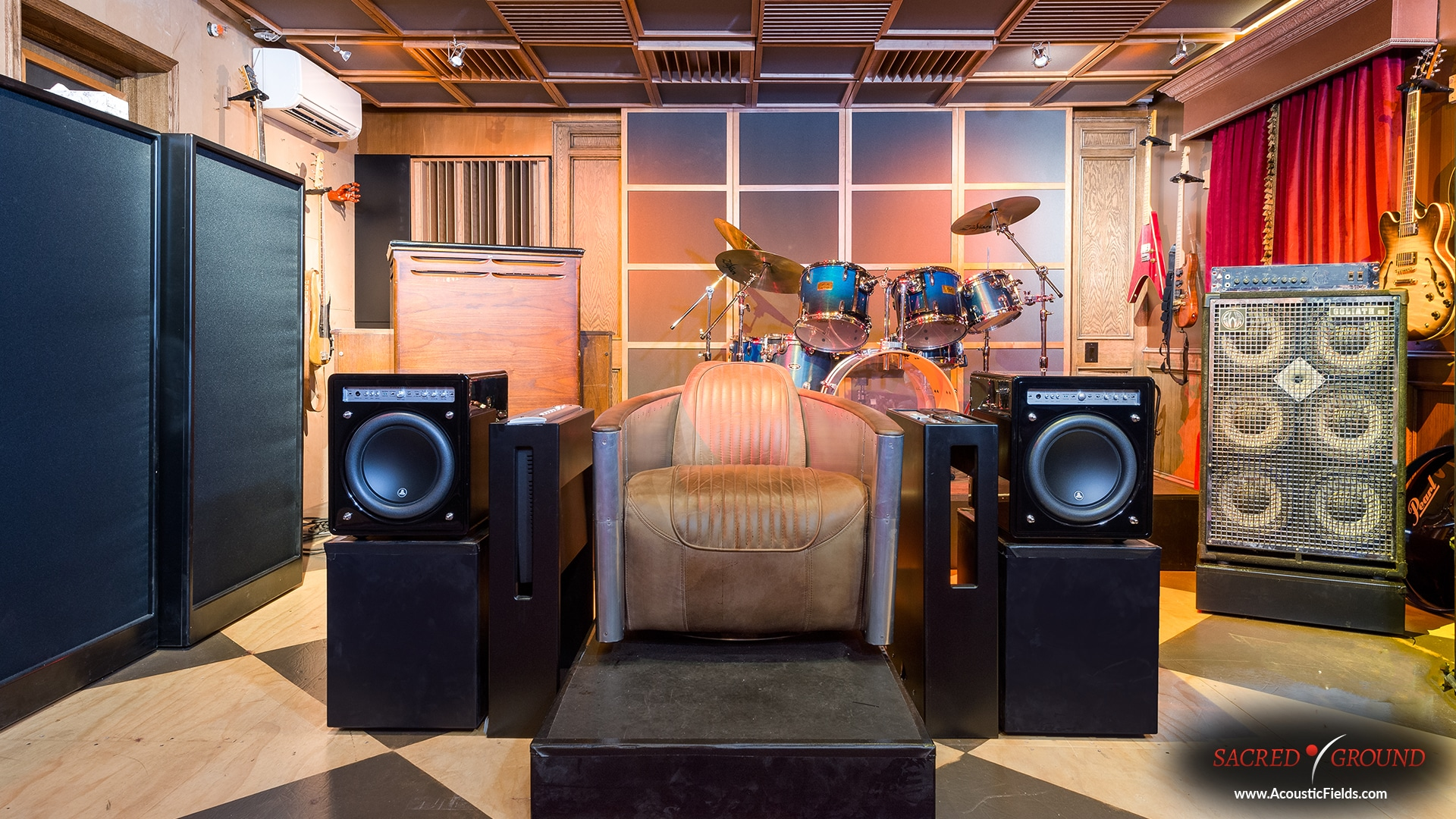 view of seat in Sacred Ground studios in Hollywood